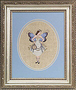 Miss New Year's Fairy - Mirabilia Cross Stitch Kit
