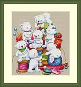 Little Helpers - Cross Stitch Kit