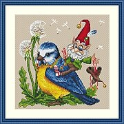 Tailwind - Cross Stitch Kit