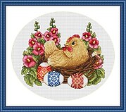 Happy Easter - Cross Stitch Kit