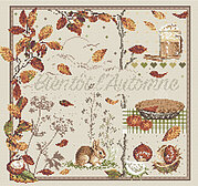 Bientot l'Automne (Almost Autumn) - Cross Stitch Pattern