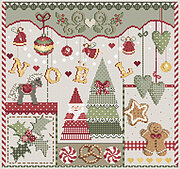 Christmas Noel - Cross Stitch Pattern