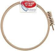 No-Slip Embroidery Hoop - Plastic - 10 inch