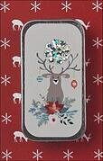 Happy Holly Deer Mini Needle Slide