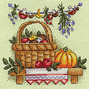 Autumn Bounty - Cross Stitch Kit