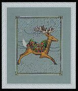 Dasher - Christmas Eve Couriers - Cross Stitch Pattern