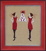 Red Gifts - Cross Stitch Pattern