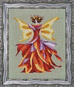 Faerie Autumn Glow - Cross Stitch Pattern
