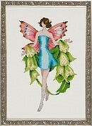 Bells of Ireland - Pixie Blossoms - Cross Stitch Pattern