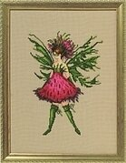 Thistle - Cross Stitch Pattern