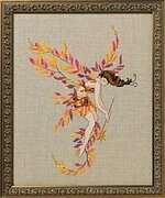 Glittering Leaves - Cross Stitch Pattern