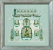 Mr Darby's House - Holiday Village - Cross Stitch Pattern