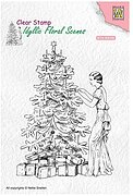 Vintage Christmas - Nellie's Choice Clear Stamp