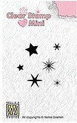 Minis Stars - Nellie's Choice Clear Stamp
