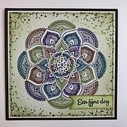 Mandala 2 - Nellie's Choice Clear Stamp
