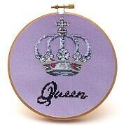 Queen - Cross Stitch Pattern