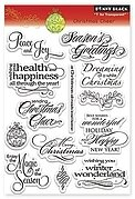 Christmas Cheer - Clear Stamp