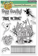 Haunted Halloween - Clear Stamp
