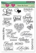 From The Heart - Clear Stamp