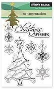 Ornamentation - Christmas Clear Stamp