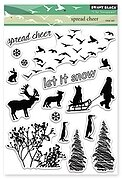 Spread Cheer - Christmas Clear Stamp