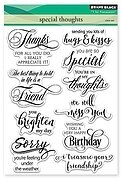 Special Thoughts -  Clear Stamp