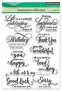 Sentiment Collection -  Clear Stamp