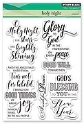 Holy Night - Clear Stamp