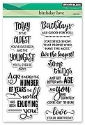 Birthday Love - Clear Stamp
