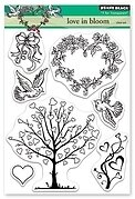 Love in Bloom - Penny Black Clear Stamp