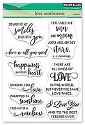 Love Sentiments - Penny Black Clear Stamp