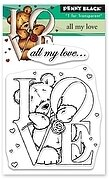 All My Love - Penny Black Clear Stamp