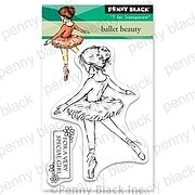 Ballet Beauty Mini - Penny Black Clear Stamp