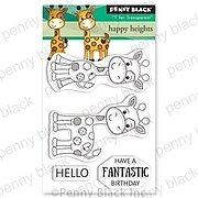 Happy Heights (Mini) - Penny Black Clear Stamp