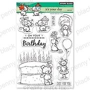 It's Your Day - Penny Black Clear Stamp