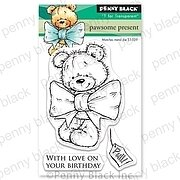 Pawsome Present Mini - Penny Black Clear Stamp