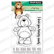 A Big Hug Mini - Penny Black Clear Stamp