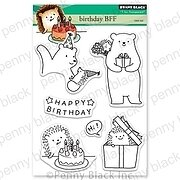Birthday BFF - Penny Black Clear Stamp