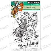 Bewitching - Halloween Penny Black Clear Stamp