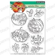 Autumn Bliss - Penny Black Clear Stamp
