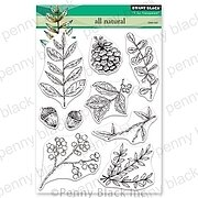 All Natural - Penny Black Clear Stamp