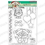 Togetherness - Christmas Penny Black Clear Stamp