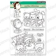 Carefree Christmas - Penny Black Clear Stamp