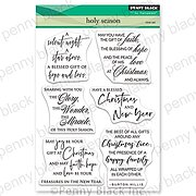 Holy Season - Christmas Penny Black Clear Stamp