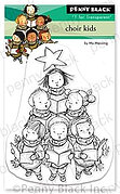 Choir Kids Mini - Christmas Clear Stamp