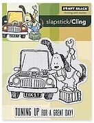 Tune Up - Slapstick Cling Rubber Stamp