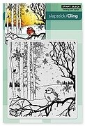 Winter Song - Slapstick Cling Rubber Stamp