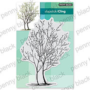Trees In Bud - Cling Rubber Stamp