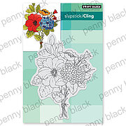 Bouquet Ballet - Cling Rubber Stamp