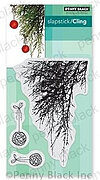 Emerald Boughs - Christmas Slapstick Cling Rubber Stamp